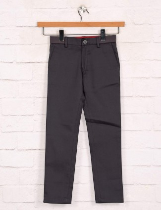 Zillian dark boys cotton trouser