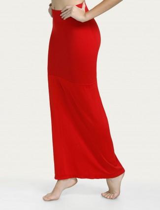 Zivame Red Saree Shape Wear Lycra Petticoat