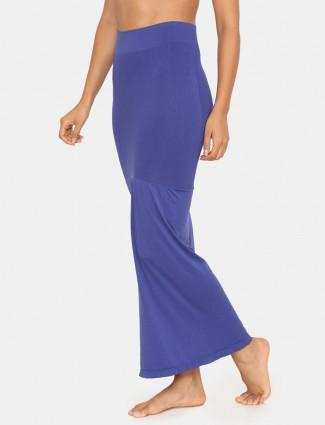 Zivame Saree Shape Wear Blue Lycra Petticoat