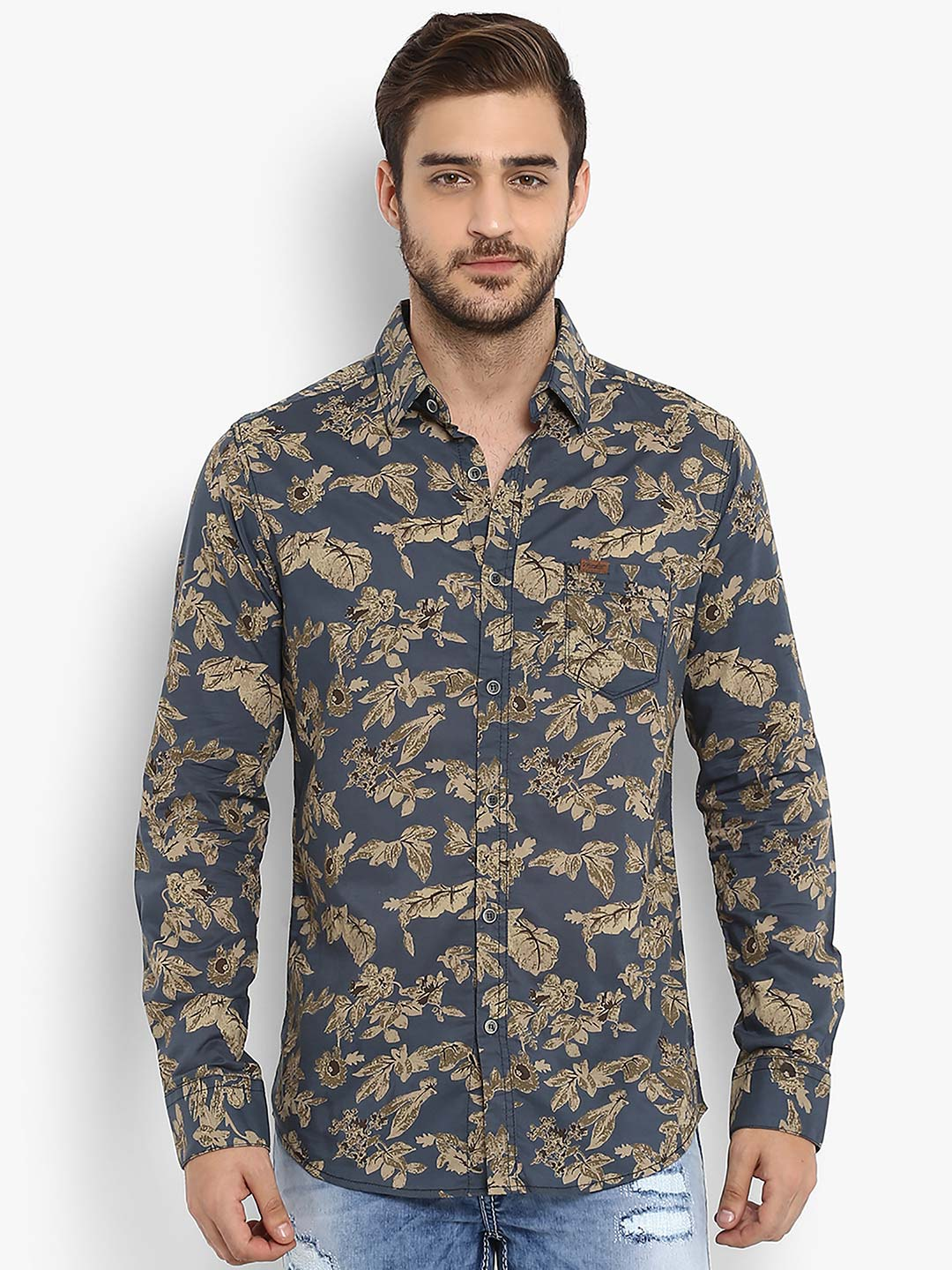 59881c0c3497 Mufti Shirts Online Shopping India - DREAMWORKS