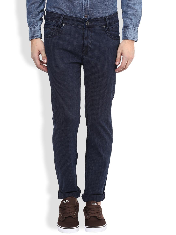 Mufti navy slim fit denim jeans - G3-MJE1256 | G3fashion.com