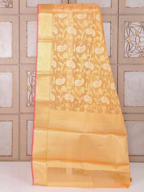 Peach color alluring cotton saree - G3-WSA25729 | G3fashion.com