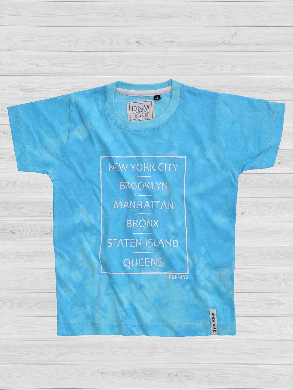 Ruff Aqua Color Cotton T Shirt G3 Bts1305 G3fashion