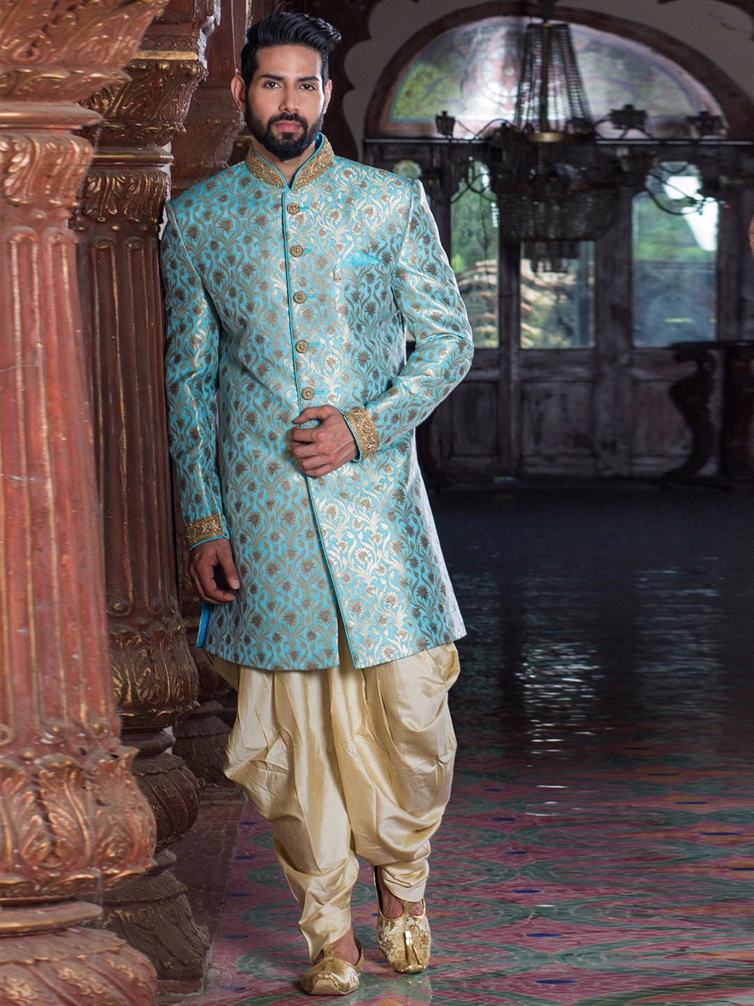 Buy Men\'s Sherwani online, Mens Indowestern Shopping - Indian ...