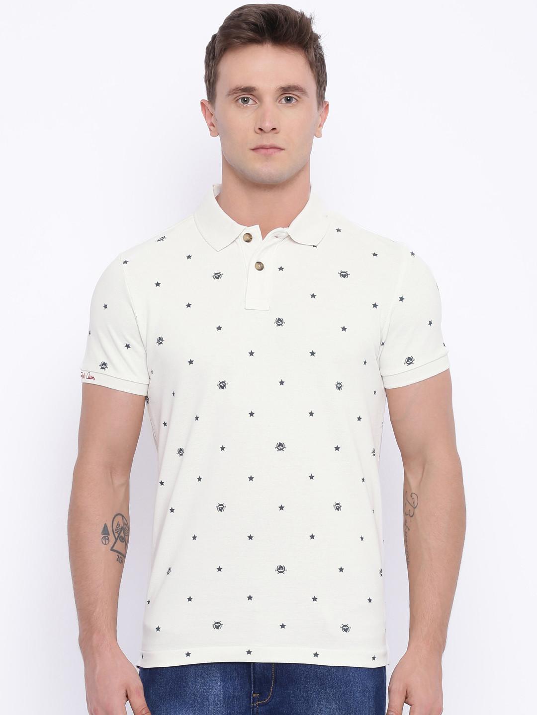 U s polo cotton printed white cotton polo t shirt g3 for Polo t shirt printing
