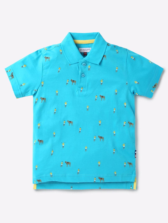 U S Polo Aqua Color Casual T Shirt G3 Bts1616 G3fashion