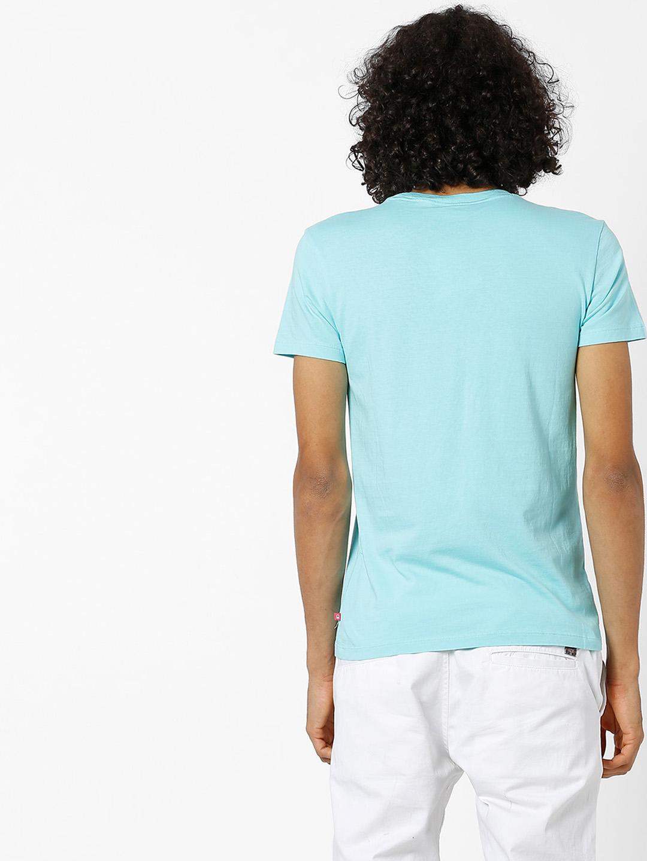 Ucb Aqua Color T Shirt G3 Mts6106 G3fashion