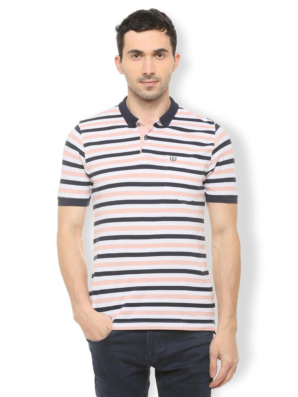 291079a0e Van Heusen black and peach stripe t-shirt - G3-MTS8683   G3fashion ...
