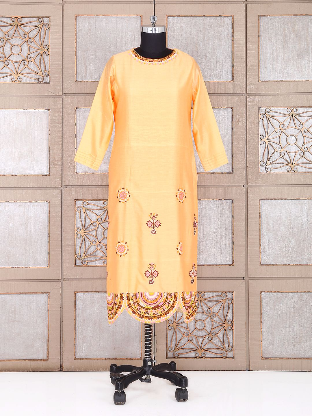 yellow silk wedding plazo suit g3wss23308 g3fashioncom